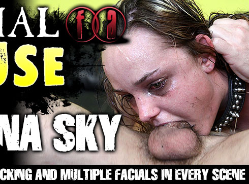 Arianna Sky Destroyed On Facial Abuse